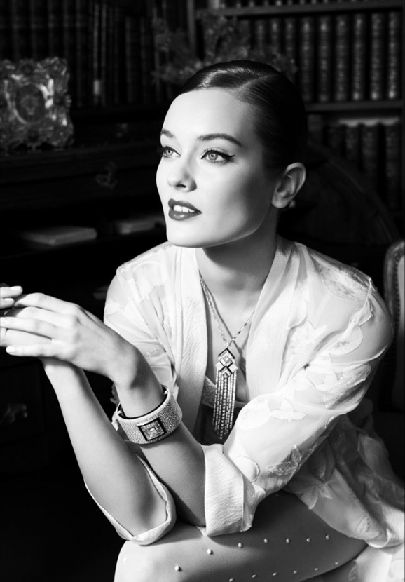 First look: Jac Jagaciak for Chanel jewellery campaign