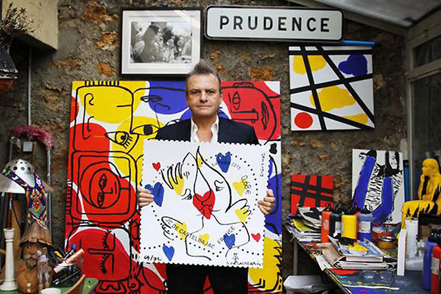 Jean-Charles de Castelbajac designs stamps for French postal service