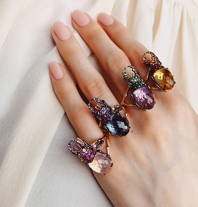 How to wear November's birthstones this month
