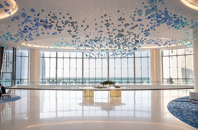 Jumeirah Group has just opened its first luxury eco-friendly hotel in Abu Dhabi