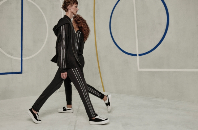 Karl Lagerfeld has teamed up with Puma for an exclusive capsule collection