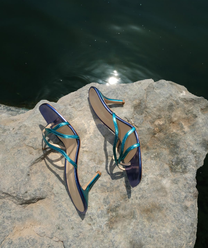 Dubai-based designer Katrine Hanna releases a limited edition footwear style for Beirut
