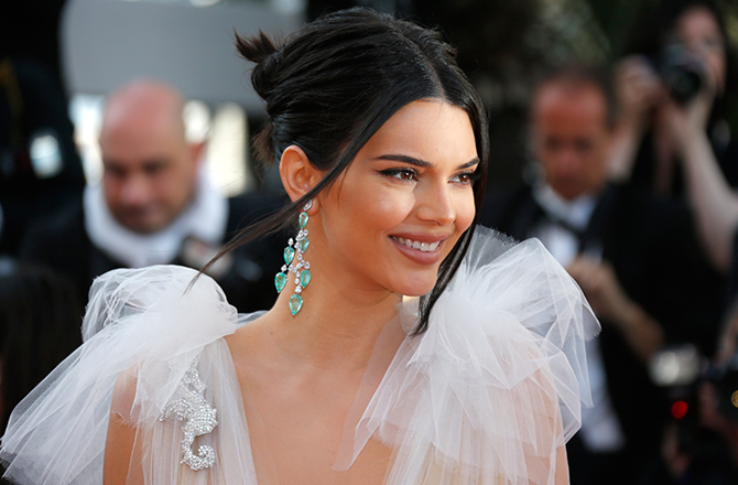Kendall Jenner is the highest paid model in the world