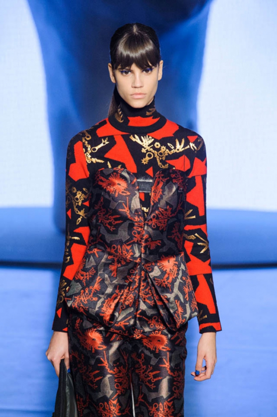 Paris Fashion Week: Kenzo Autumn/Winter 14