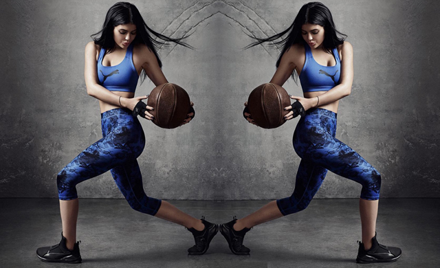 Fierce first look: Kylie Jenner's Puma sneaker