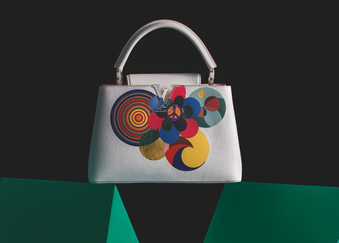 Louis Vuitton invites six artists to join its Artycapucines collection