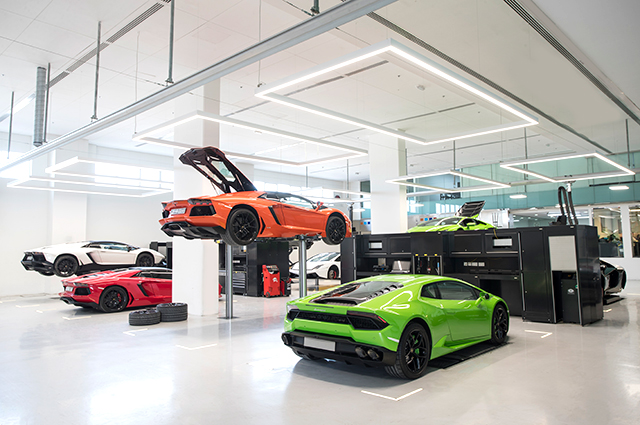Now open: World's biggest Lamborghini showroom in Dubai