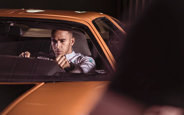Lewis Hamilton stars in new Mercedes-Benz fashion film