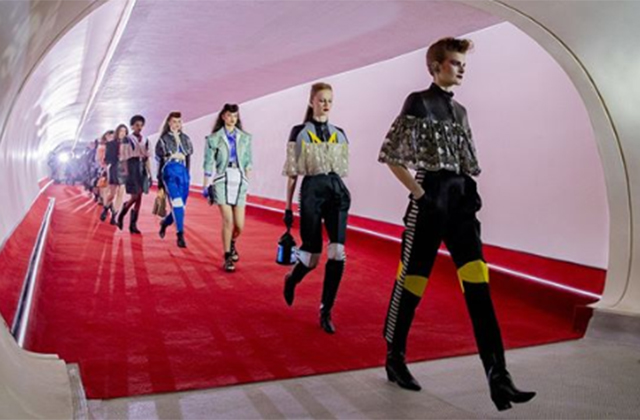 Louis Vuitton's Cruise 2020 collection was a fusion of savoir-faire and creative innovation