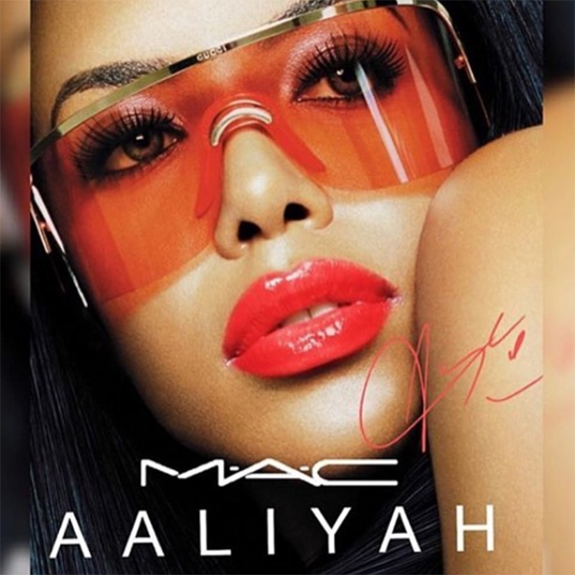 We finally know the launch date for the new M.A.C x Aaliyah beauty collection