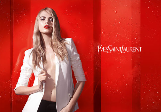 First look: Cara Delevingne stars in the new YSL Beauty campaign