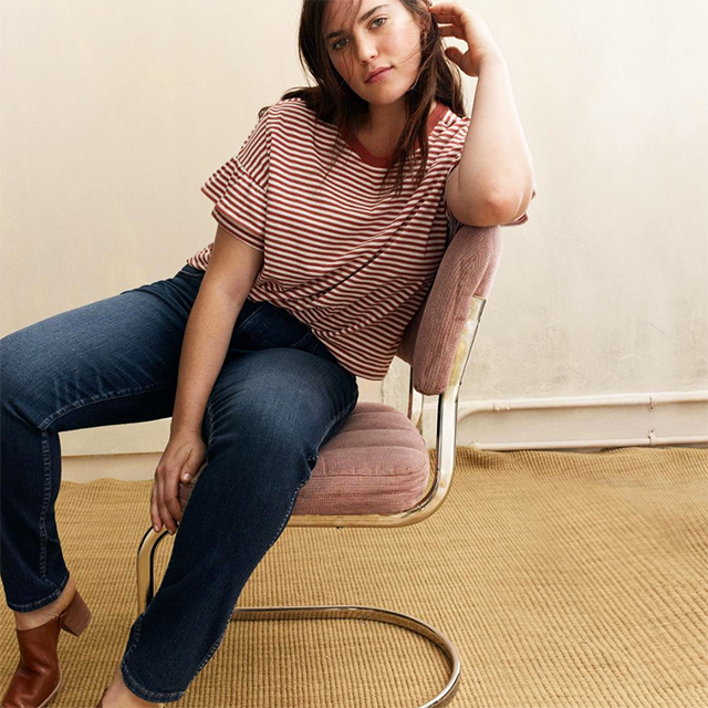 Madewell launches extended sizing