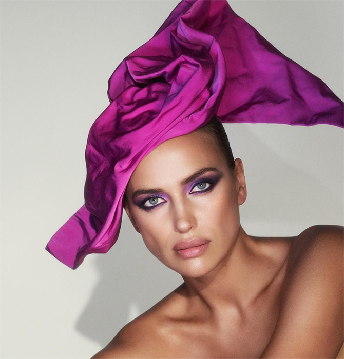 Irina Shayk is the new face of Marc Jacobs Beauty