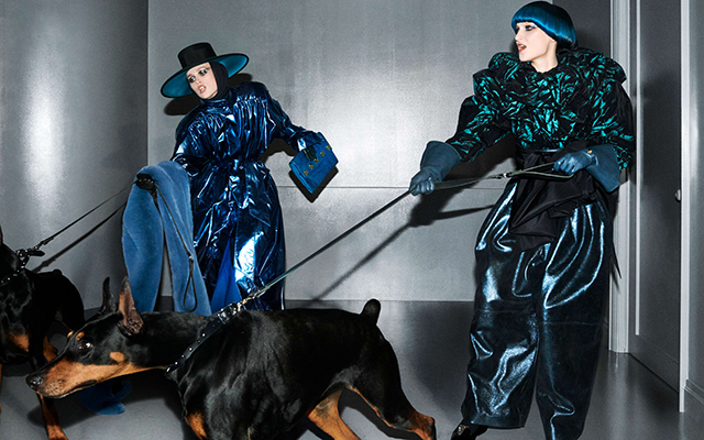 Marc Jacobs' new campaign makes dog-walking look so chic