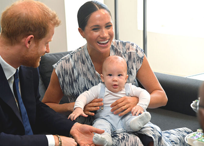 Prince Harry and Meghan Markle to launch a new charitable organisation inspired by Archie