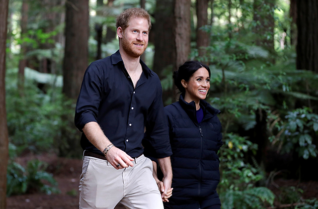 Prince Harry and Meghan Markle's royal tour gained major mentions on social media