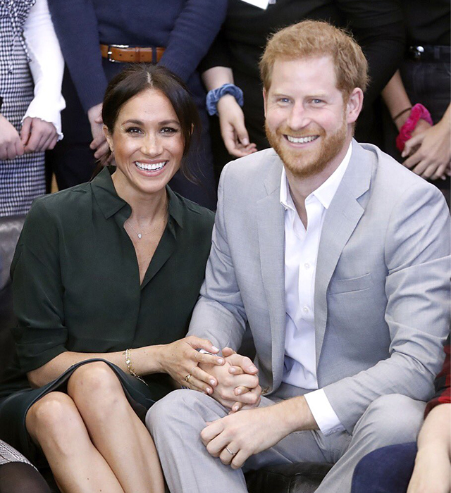Breaking news: The Duke and Duchess of Sussex are expecting their first child