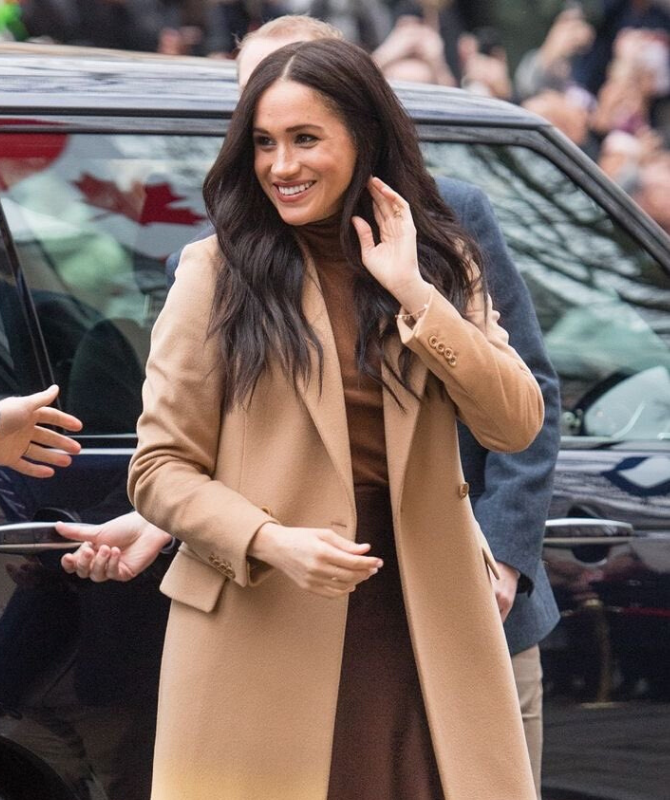 Meghan Markle makes her first TV appearance since her royal exit