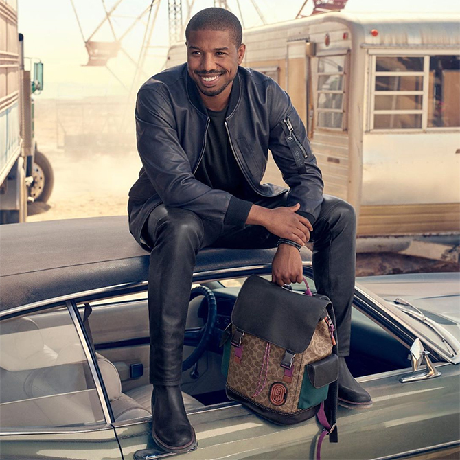 Michael B. Jordan fronts his first campaign for Coach
