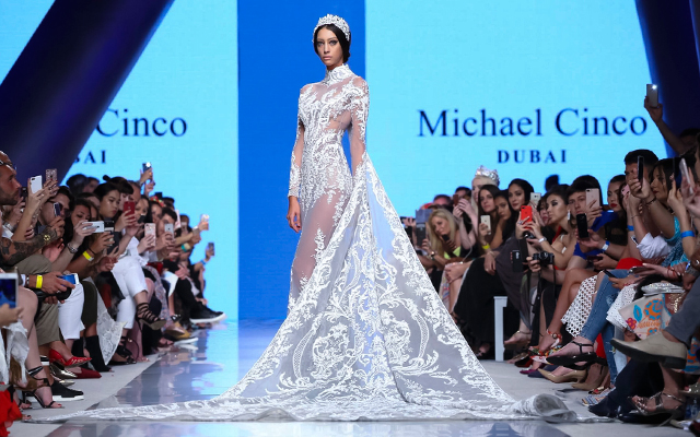 Arab Fashion Week: Michael Cinco's Ready-Couture collection show