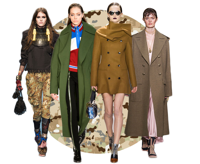Fall/Winter '16 trend report: Military