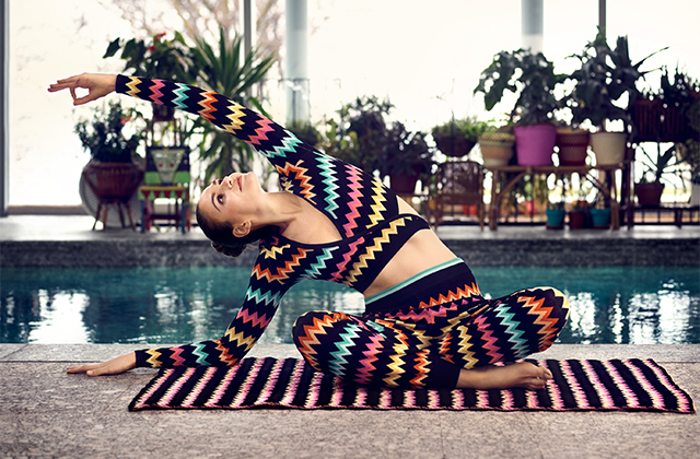 Missoni x mythersa.com: Directional new activewear collection
