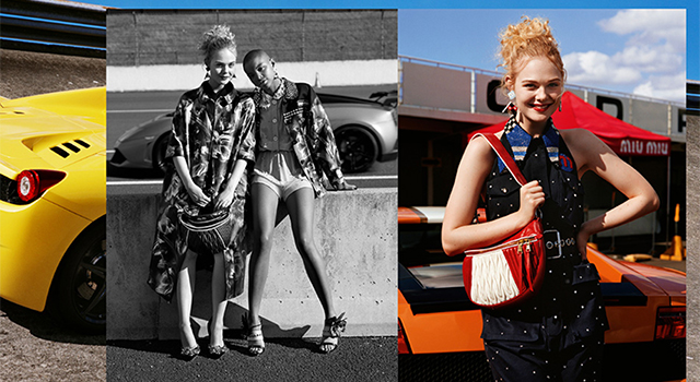 First look: Miu Miu's Cruise '18 campaign