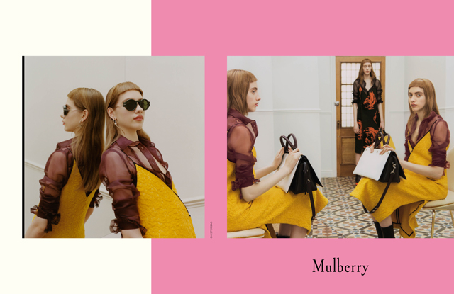 Mulberry's Fall campaign chapter one: Odette and Lia Pavlova