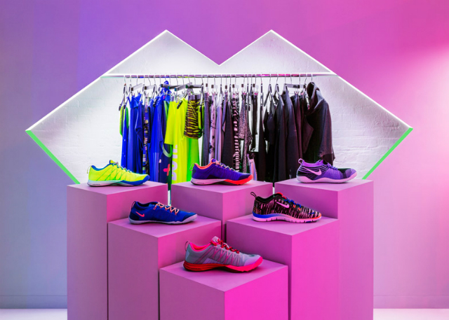 Nike launch NYC womenswear pop-up shop