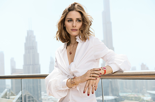 Olivia Palermo's new campaign for Piaget was shot in Dubai