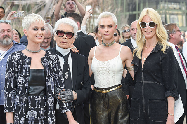 Paris Haute Couture Fashion Week Fall/Winter '17: Chanel front row