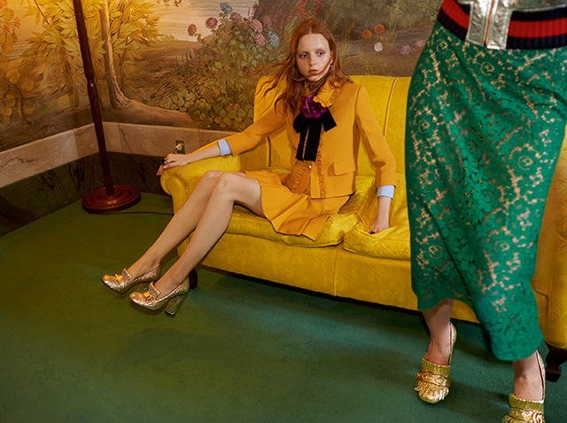 12a3b18c0b5 Gucci release new Cruise 2016 images directed by Alessandro Michele ...