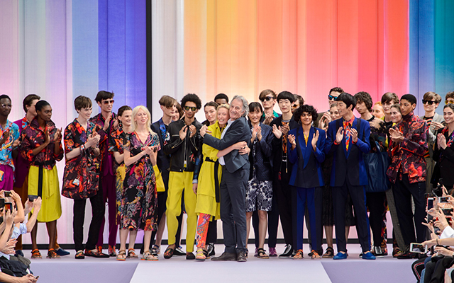Men's Paris Fashion Week: Paul Smith Spring/Summer '18