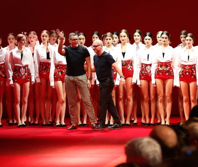 Milan Fashion Week: Dolce & Gabbana Front Row