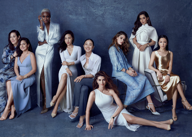 Some of the world's most extraordinary women come together for Piaget's new campaign
