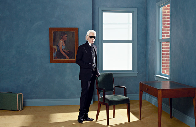A new Karl Lagerfeld exhibition is set to open in Paris