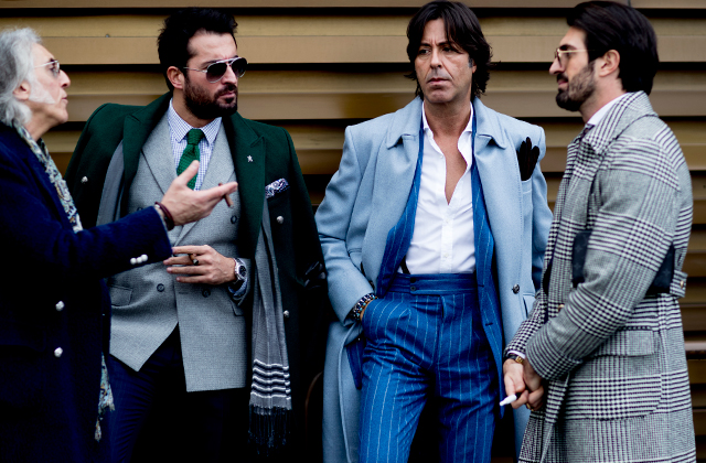 Day one: The best street style looks from Pitti Uomo 2018