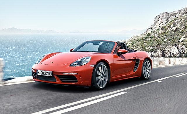 Porsche launches the 718 Boxster and 718 Boxster S