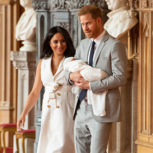 Prince Harry and Meghan Markle reveal name of new son