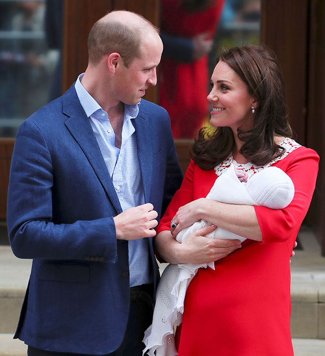 The Duke and Duchess of Cambridge introduce new prince to the world