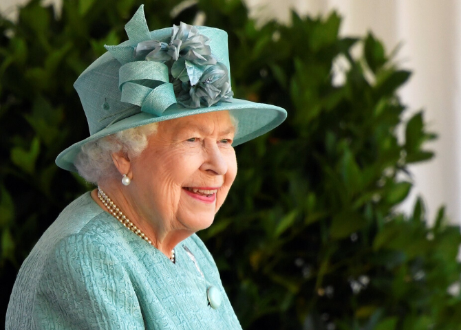 Queen Elizabeth attends the annual Trooping the Colour ceremony alone due to COVID-19