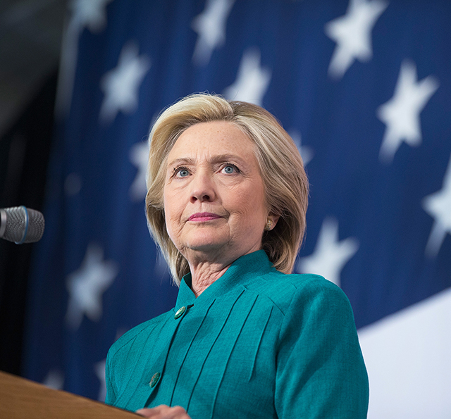 History-maker: Hillary Clinton is first female US presidential nominee