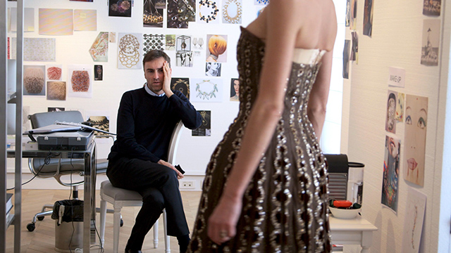 Watch now: Raf Simons stars in 'Dior and I' documentary