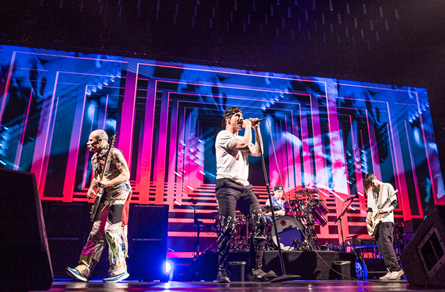 Red Hot Chili Peppers confirmed to play in Abu Dhabi