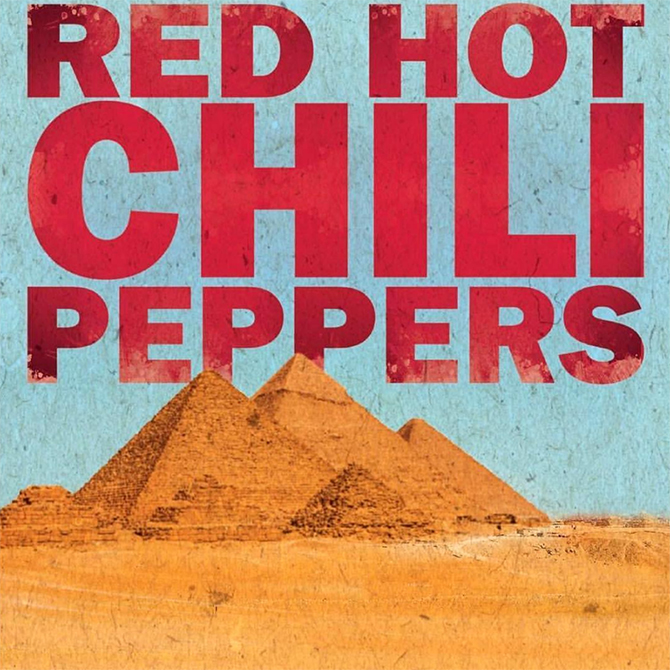 Red Hot Chili Peppers to perform at Egypt's Great Pyramids of Giza