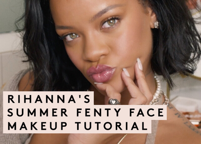 Get your #FENTYFACE on with Rihanna