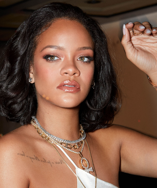 Get Rihanna's look with a full face of Fenty Beauty