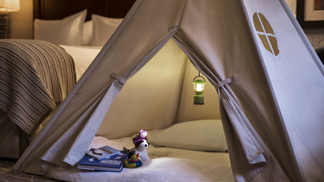 "The Ritz Carlton Colorado offers a cool ""camping\"" experience for kids"