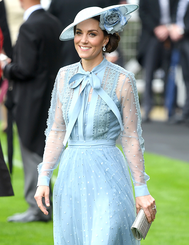 Kate Middleton wearing an Elie Saab dress on day one of Royal Ascot is the highlight of our week