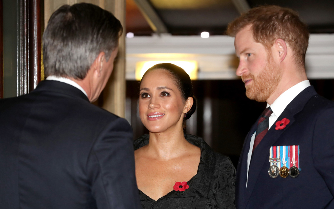 Prince Harry and Meghan Markle reunite with Prince William and Kate Middleton